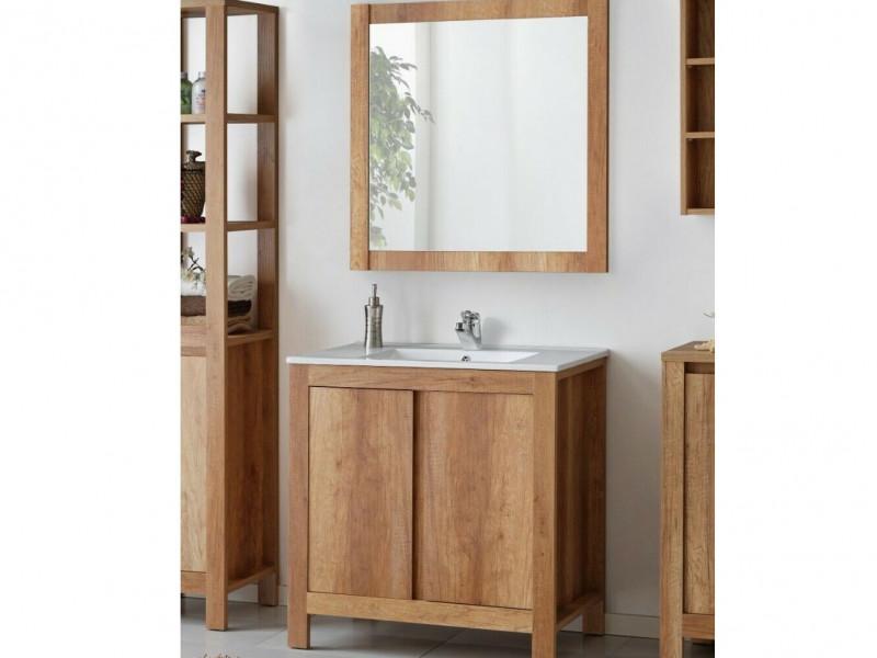 Classic Free Standing Vanity Bathroom, Mirrored Free Standing Bathroom Cabinet