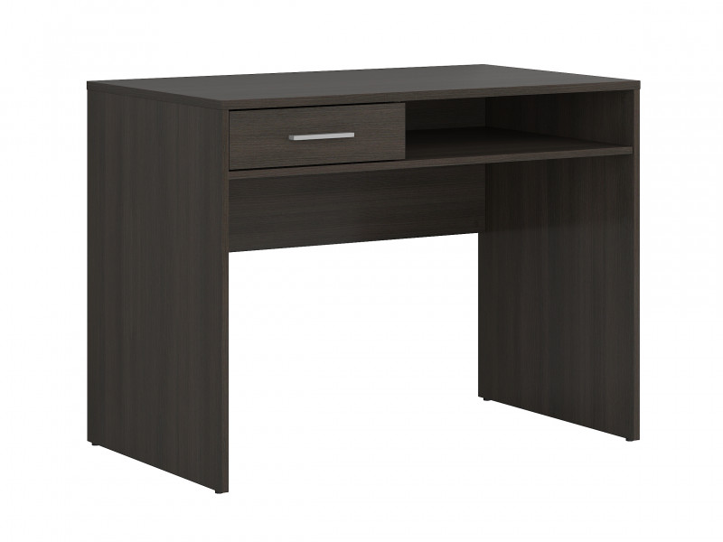 One Drawer Study Desk Modern Office Wenge, White or Sonoma Oak Finish- Nepo (S435-BIU1S-WE-KPL01)