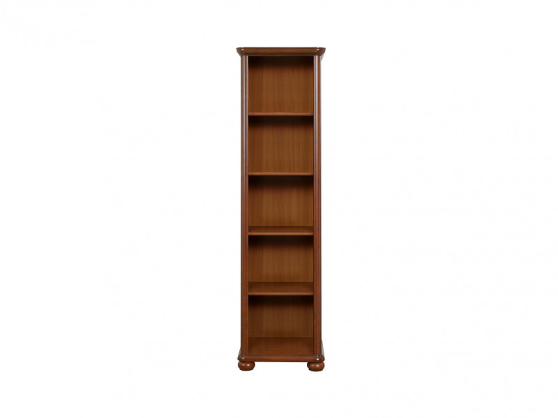 Bookcase Shelf Cabinet Classic Style Traditional Office Furniture Cherry Finish - Natalia (REG60)