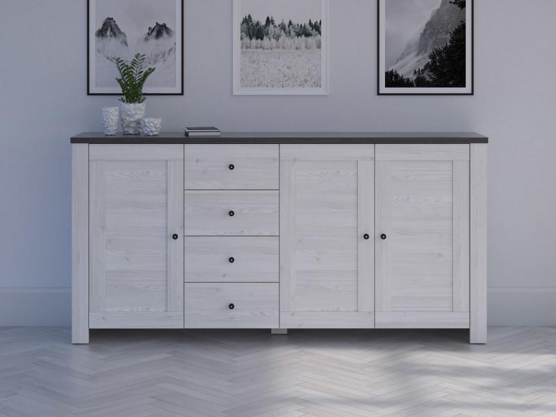 Wide Sideboard Dresser Cabinet - Antwerpen (KOM3D4S/10/20)