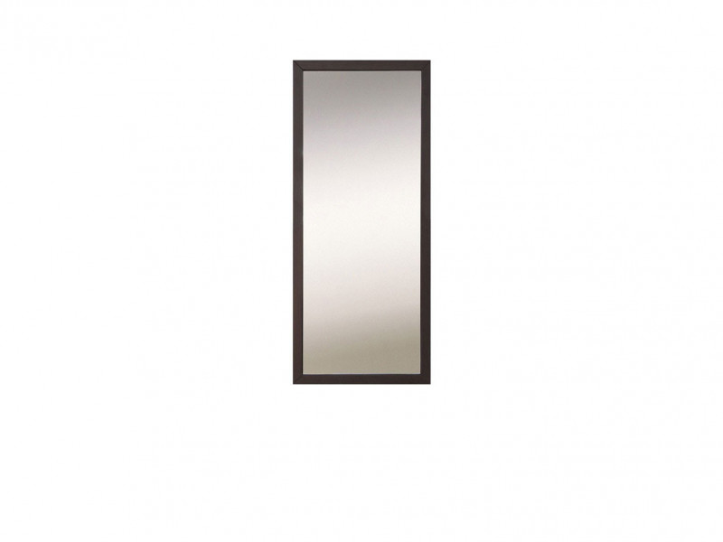 Modern Rectangular Wall Mirror Wenge Brown - Kaspian (S128-LUS/50-WE-KPL02)