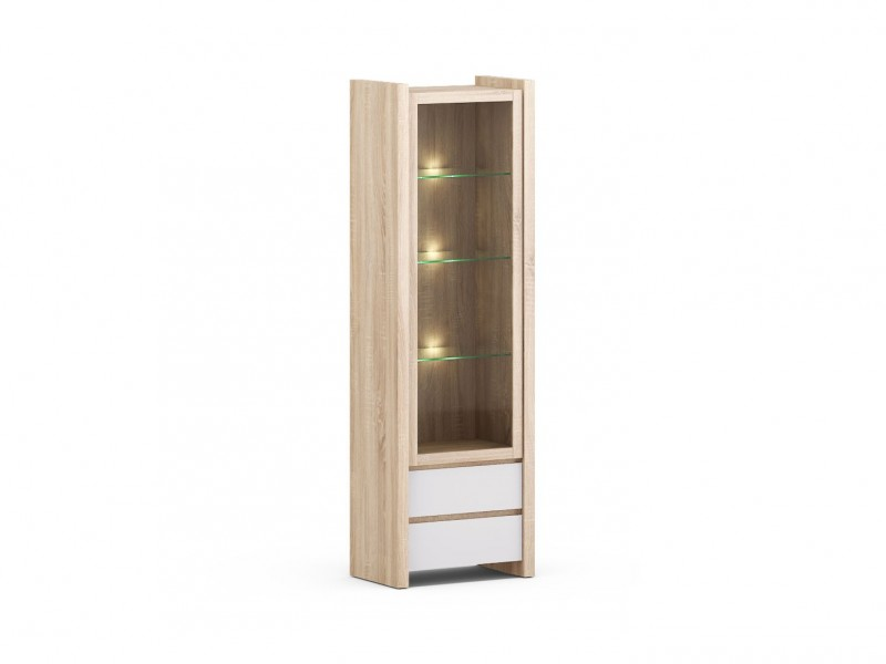 Venom Mix - Glass-Fronted Display Cabinet (REG1W2S)