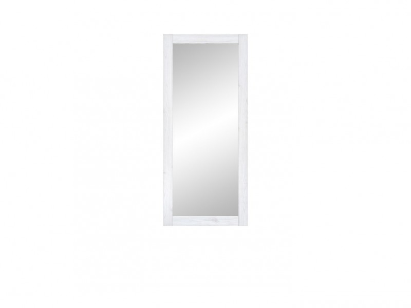 Mirror White Wash Wood Effect - Porto (S322-LUS/50-MSJ-KPL01)