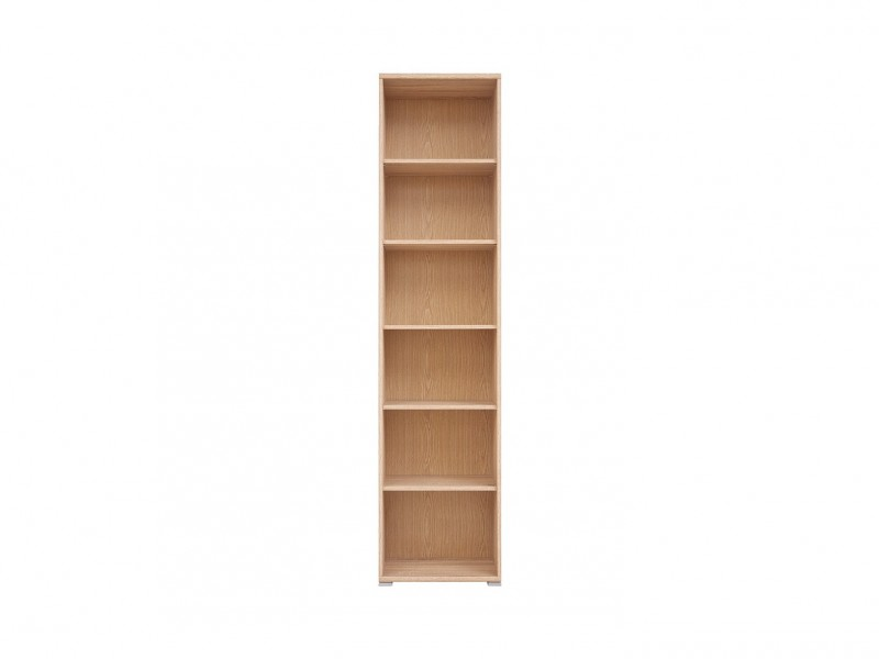 Bookcase Shelving Unit - BRW OFFICE (S173-REG/53/220-DSO-KPL01)