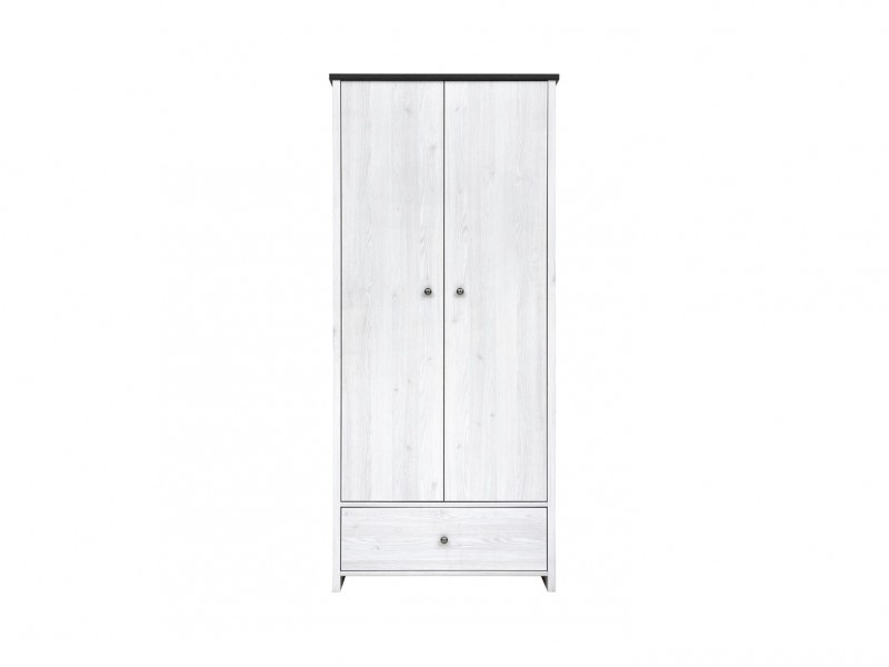 Porto - Two Door Wardrobe (SZF2D1S)