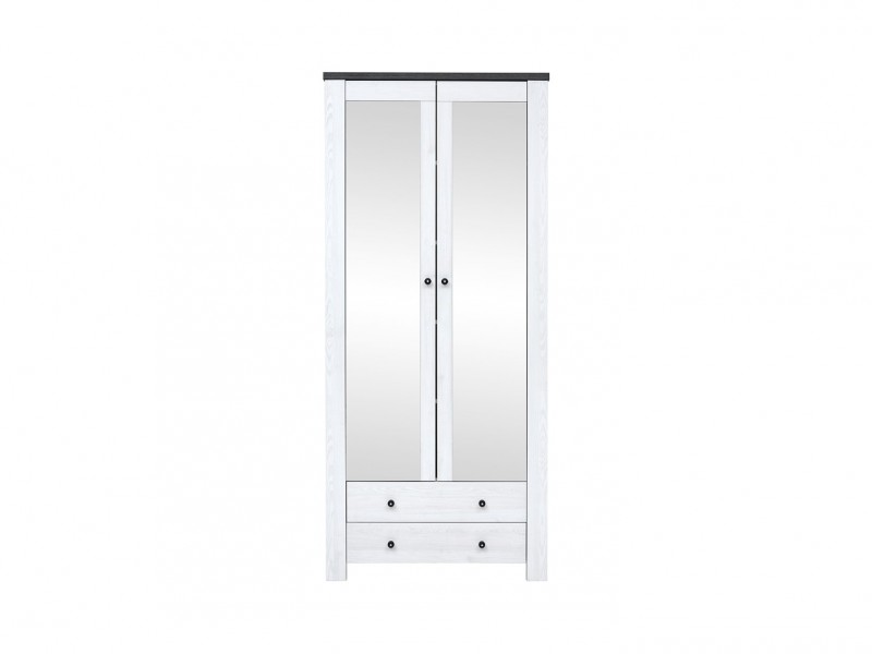 Antwerpen - Tall Cabinet With Mirror (REG2L2S/20/9)