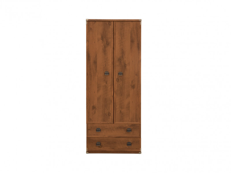 Two Door Wardrobe - Indiana (S31-JSZF2d2s-SOC-KPL01)