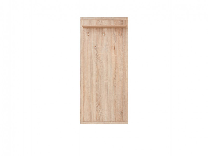 Modern Coat Hooks Rack Hallway Entrance Hall Oak - Kaspian (S128-WIE/60-DSO-KPL01)