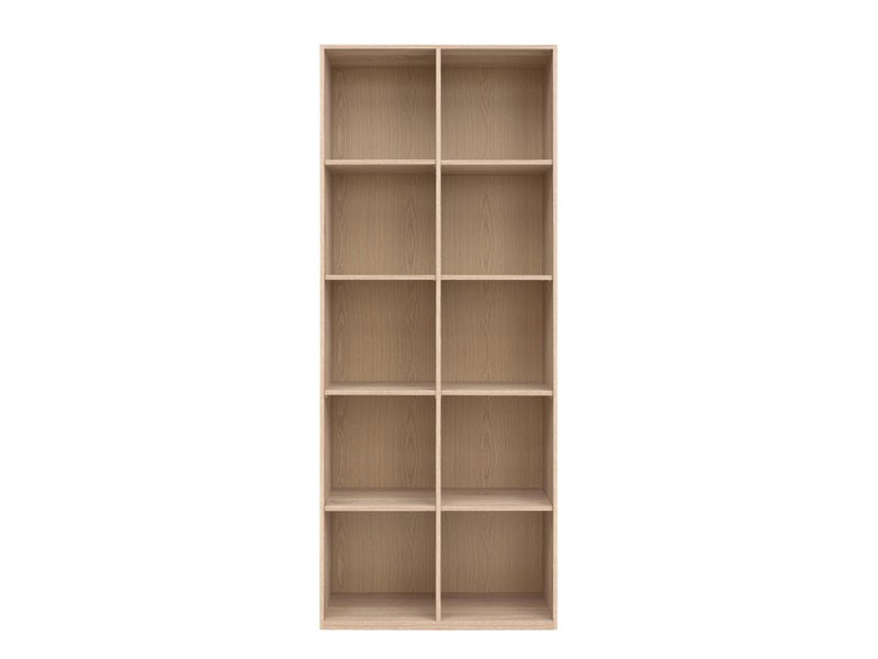 Bookcase Cube Shelf Cabinet in Sonoma Oak - Academica (REG/80)