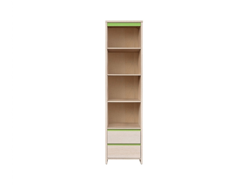 Numlock - Bookcase Shelf Cabinet With Drawers (REG2S/50)
