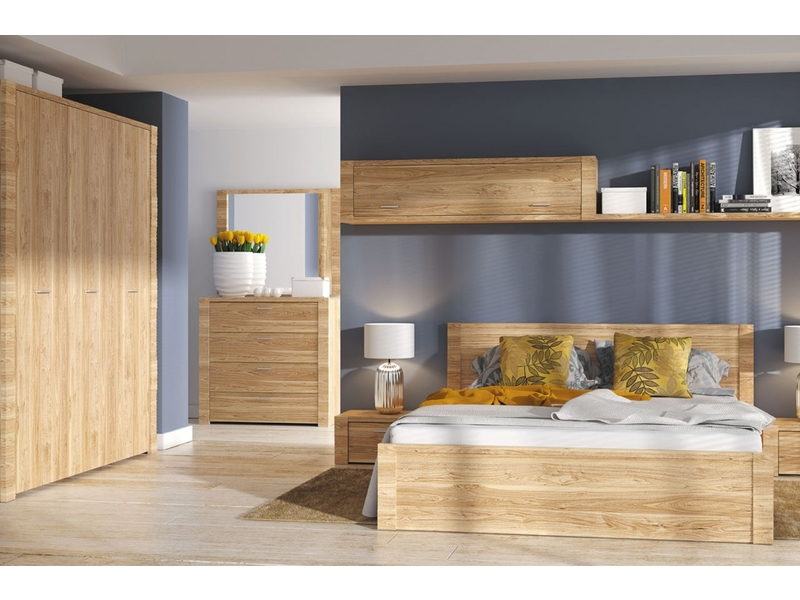 King Size Bedroom Furniture Set - Raflo (RAFLO BED SET)