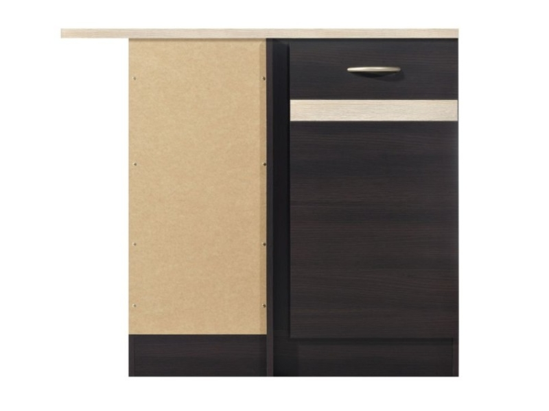 Junona Line - Lower Internal Corner Cupboard 100cm Left (DNW/100/82_L)
