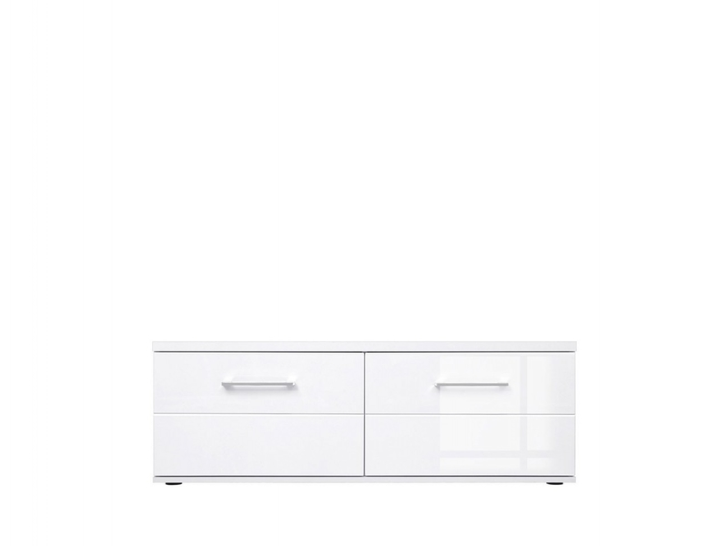 Avila - TV Cabinet in White High Gloss or Grey Gloss (RTV2S/4/12)