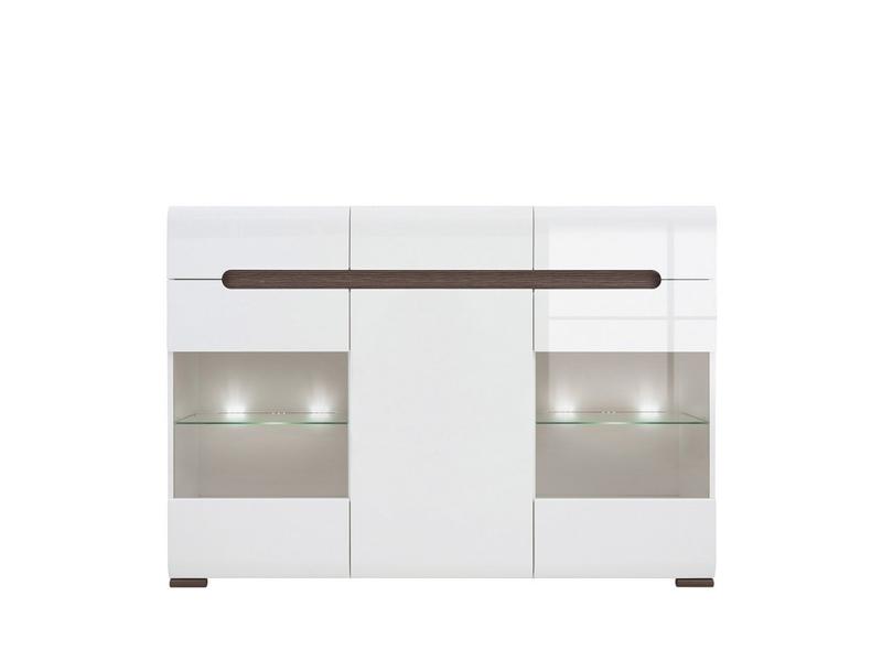 Azteca - Sideboard Dresser Display Cabinet (KOM2W1D3S/10/15)