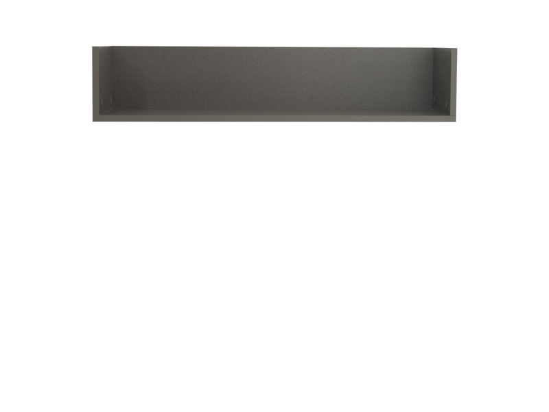 Wall Mounted Shelf Floating Modern - Graphic (S343-POL/86-SZW)