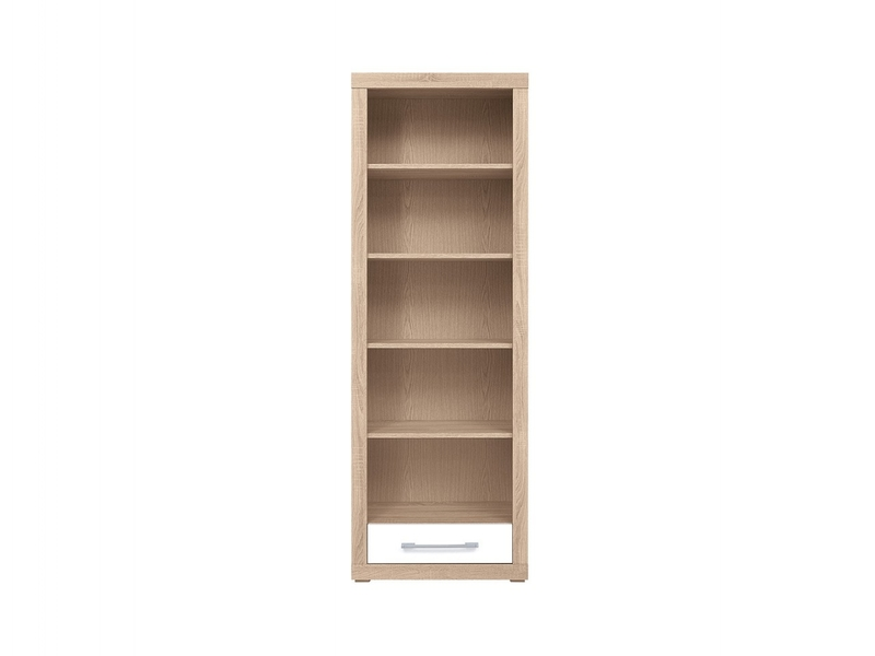 Bigi - Bookcase Shelf Cabinet With Drawer (REG1S/68/197)