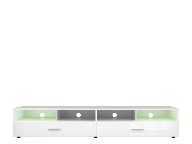 Desert - TV Cabinet in White High Gloss (RTV2S/4/20)