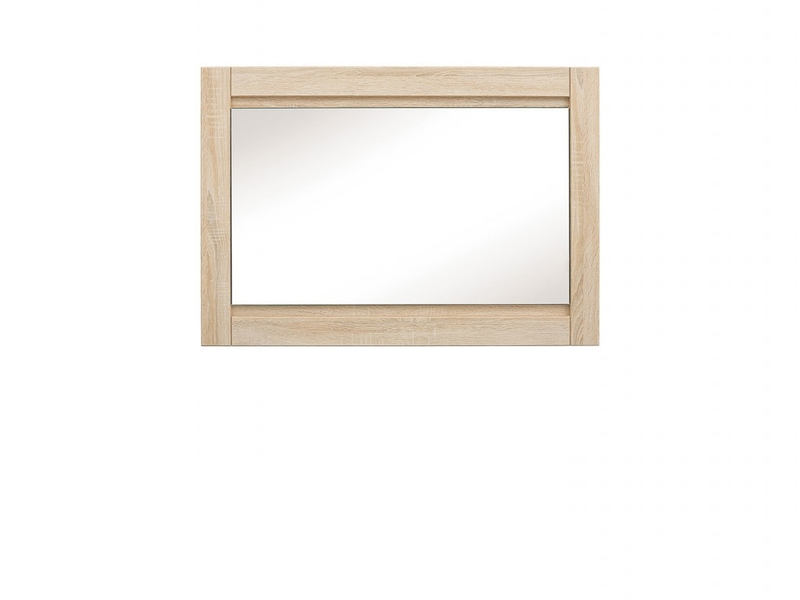 Rectangular Large Mirror in Sonoma Oak wood effect finish - Agustyn (LUS/100)