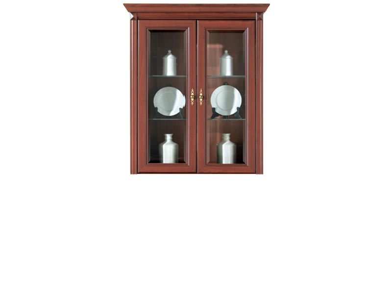 Stylius - Glass-Fronted Dresser Display Cabinet Top Unit (NNAD 2W)
