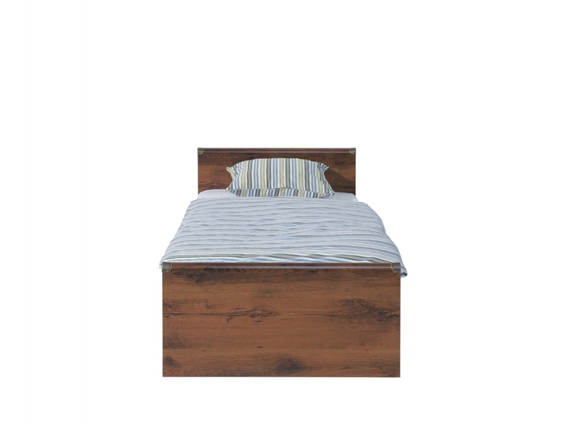 Indiana - Single Ottoman Storage Bed with Mattress (JLOZ90)