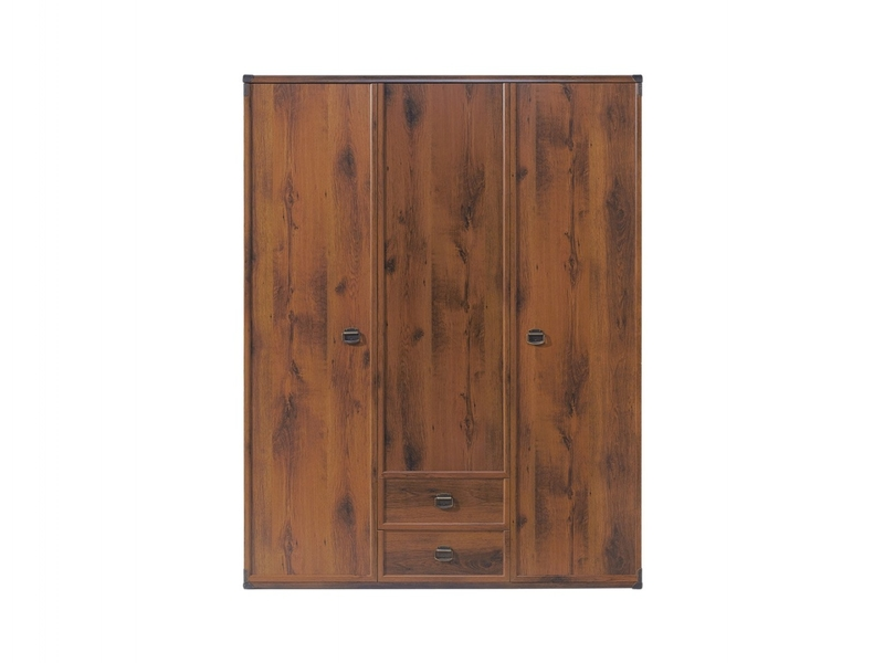 Indiana - Three Door Wardrobe (JSZF3D2S)