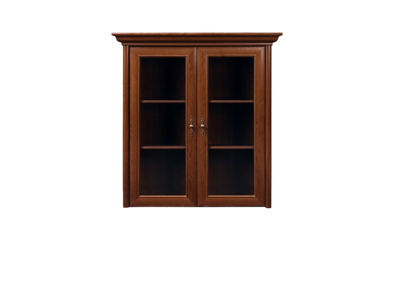 Kent - Glass-Fronted Dresser Cabinet Top Unit (ENAD 2W)