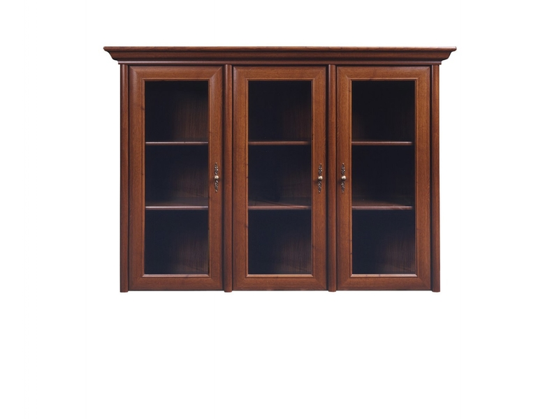 Kent - Glass-Fronted Dresser Cabinet Top Unit (ENAD 3W)
