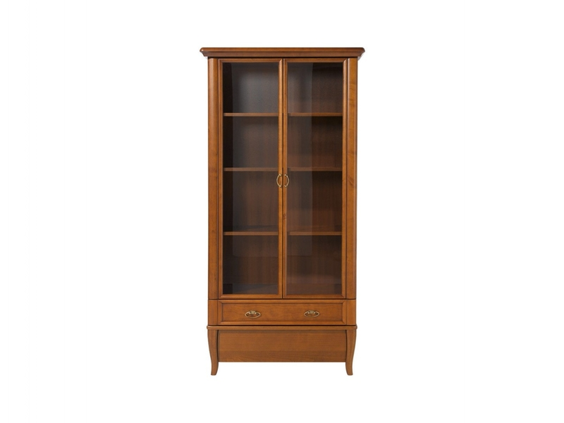 Tall Glass Display Cabinet - Orland (REG2W2S/90)
