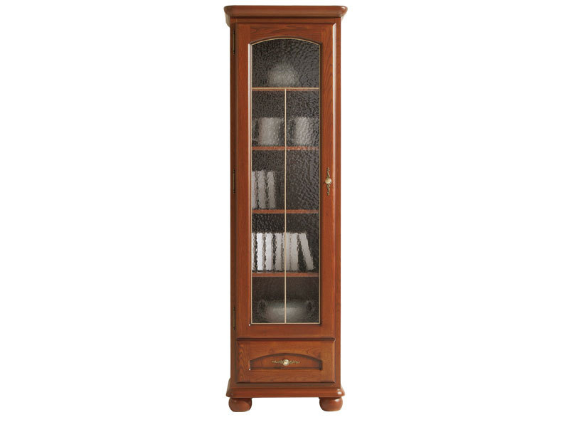 Glass Dresser Display Cabinet Left - Bawaria (DWIT 1DL)