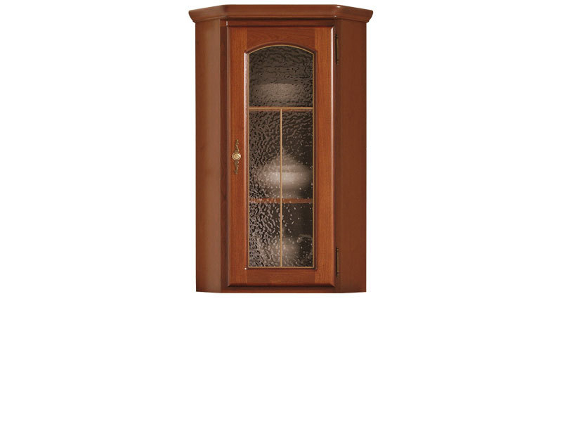 Glass Dresser Display Cabinet Top Unit - Bawaria (DNAD 1WN)