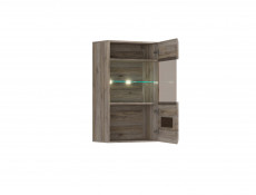 Azteca - Wall-Mounted Glass-Fronted Display Cabinet