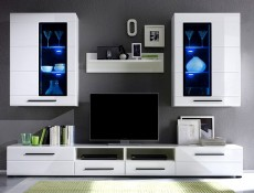 Argus -  Living Room Furniture Set White Gloss