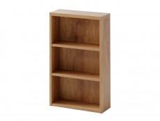 Classic Wall Mounted Bathroom Shelf Cabinet Unit Oak 40cm - Classic Oak (CLASSIC_830_OAK)