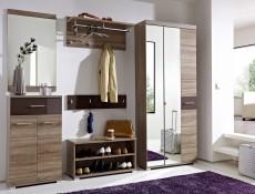 Homeline - Single Mirror Door Wardrobe (REG2M1D/20/8)