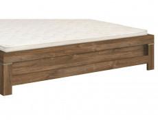 Modern 4-Piece Bedroom Furniture Set King Size Bed Frame Quad Wardrobe Oak - Gent