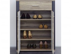 Flame - Shoe Cabinet (KOM2D1S/10/8)