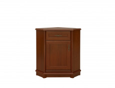 Sideboard Corner Dresser Cabinet Traditional Living Room Furniture Chestnut Finish - Kent