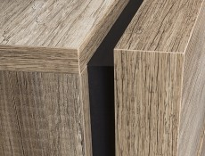 Sideboard Dresser Cabinet in Oak finish - Anticca (KOM1D4S)