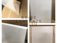 Kitchen Worktop 600 mm 60cm Incanto Beige laminate finish - Junona