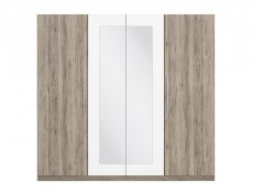 Four Door Wardrobe - Martina