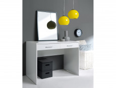 Two Drawer Study Desk Modern Office - Nepo