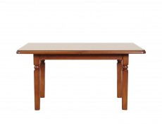 Extendable Dining Room Table (160cm) Classic Style Traditional Furniture Cherry Finish - Natalia