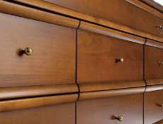 Chest of Drawers / Sideboard Dresser - Orland (KOM8S/140)