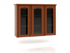 Glass Dresser Display Cabinet Top Unit - Natalia (NAD150)
