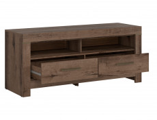 TV Cabinet Stand Unit with Drawers Oak - Balin (S365-RTV2S-DMON-KPL01)