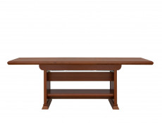 Coffee Table Extendable Classic Style Traditional Living Room Furniture Chestnut Finish - Kent