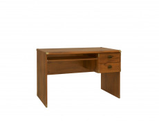 Desk Two Drawers Pull Out Shelf - Indiana