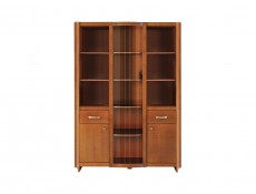 Alevil - Glass-Fronted Display Cabinet (REG1W2D2S)