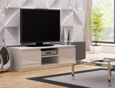 Top E Gloss  - TV Cabinet Unit White High Gloss