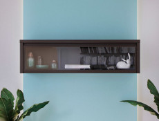 Wall Glass Cabinet - Kaspian